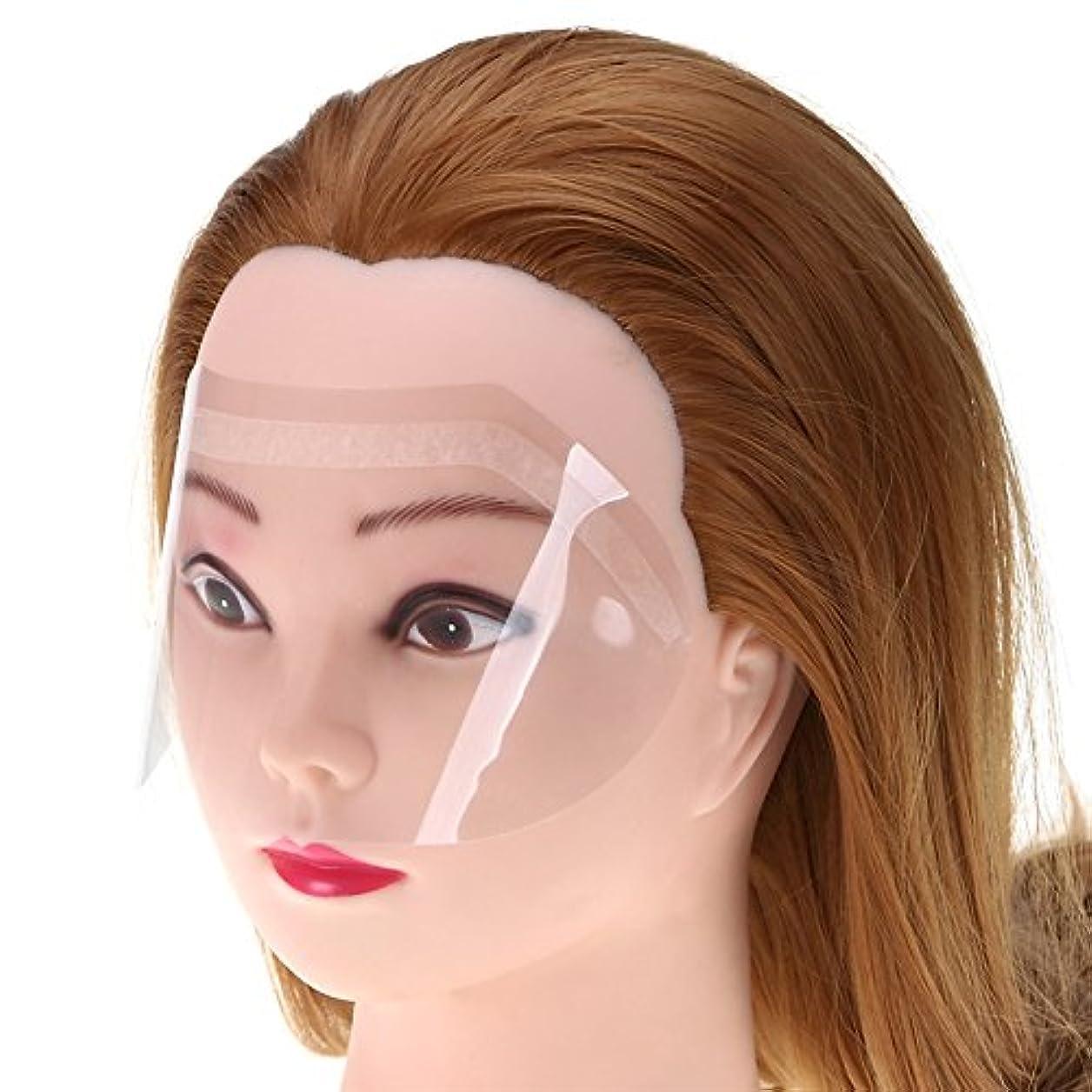 故障中改修する失態50ピース/パック熱い販売サロンヘアアクセサリーヘアアイプロテクターヘアフェイスカバーほこりを避けプロサロンツール