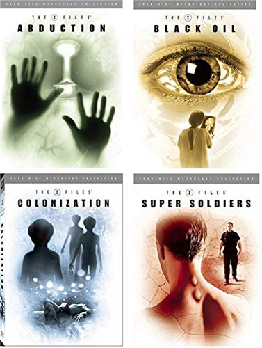 The X-Files Mythology: Complete Collection Volumes 1,2,3 & 4 - Abduction/ Black Oil/ Colonization/ Super Soldiers