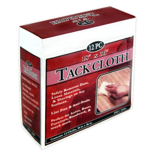 12 Piece Tack Rag Cloth