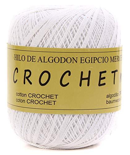 Hilo de Algodon para Tejer Crochet Ganchillo o Punto Torrijo PERLE XXL No 5 70g, Ovillo de algodón...