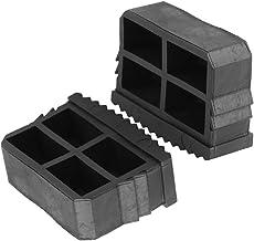 Asixx Pieds d/Échelle Lot DE 2 1 Paire de Pieds d/Échelle en Caoutchouc Antid/érapants Coussinet d/Échelle pour /Échelle en Aluminium