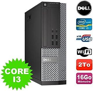 Dell PC Optiplex 7020SFF i3–41503.5GHz 16GB Disco 2to WiFi Grabador Win 7
