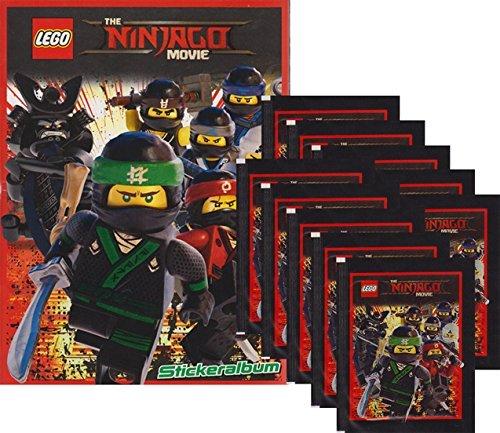 Blue Ocean - LEGO Ninjago Movie - Sammelsticker Serie (1 Album + 10 Tüten)