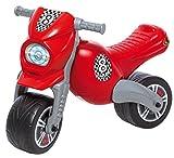 Dohany 180 Crossbike Rutscher Laufrad Motorrad Rutschauto Für Kinder von 3 Jahren, Bis 50 kg, Rot, 76x39x54 cm