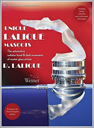 Unique Lalique Mascots: The automotive radiator hood & desk ornaments of master glass artisan R. Lalique (including auction realisation prices with market values guide).