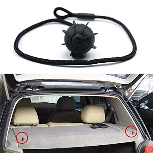 Auto Schrägheck Hatchback Hatchback Hatchback Hutablage Rückwand Ablage String Holding Strap Seil Small Ball