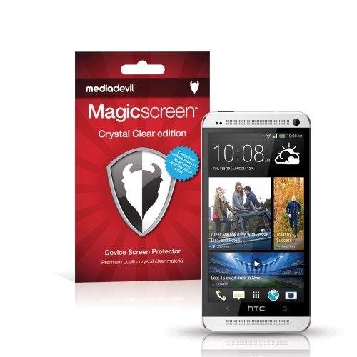 MediaDevil Protector de Pantalla para HTC One M7 (2013) - Edición Crystal Clear - (2 Protectores)