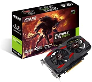 ASUS Cerberus GeForce GTX 1050 Ti 4GB GDDR5 Gaming Graphics Card (Cerberus-GTX1050Ti-A4G)