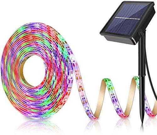 Solar LED Strip Light,YAWEYA 150LED Rope Lights 3M Tape Lights Waterproof Solar Light for Outdoor Indoor Garden Patio Wedding Christmas Bedroom DIY Decoration Lighting (Multi)