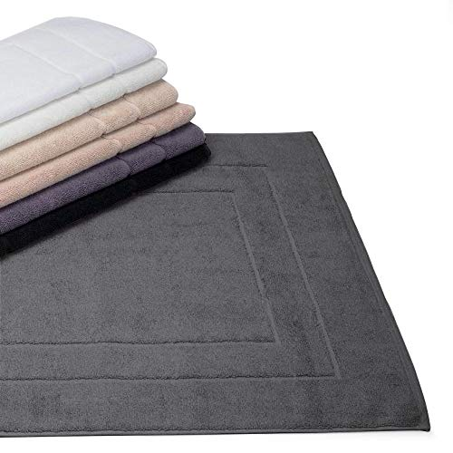 Linnea badmat, 60 x 100 cm, flair antraciet 1500 g/m2