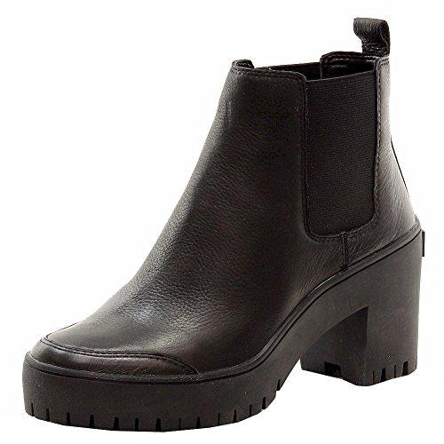 Donna Karan DKNY Women's Silone Fashion Black Booties Shoes Sz: 8