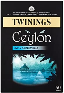 Twinings (UK) Ceylon 50 tea bags
