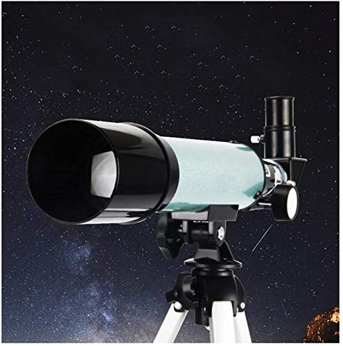 J-Love Telescopio Principiante, telescopio para astronomía con trípoy Soporte para teléfono Telescopio Refractor astronómico para observar la Luna y el Planeta