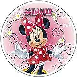 Minnie Mouse 20cm 20,3cm comestible gâteau Topper. officiel. Modecor.