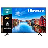 Hisense 43-Inch Class H6570G 4K Ultra HD Android Smart TV with Alexa Compatibility, 2020 Model
