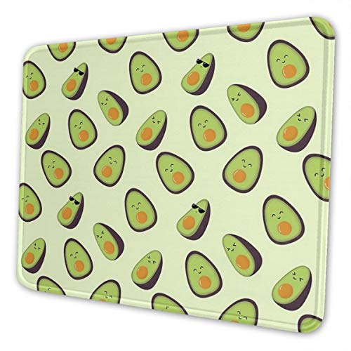 Happy Avocados Mouse Pad Multi Code Anti Skid Rubber Game Mouse Pad is Suitable for Computer Notebook