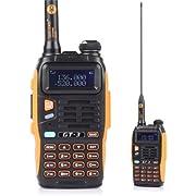 BaoFeng GT-3 UHF/VHF Récepteur Radio Deux Bandes, Deux Voies