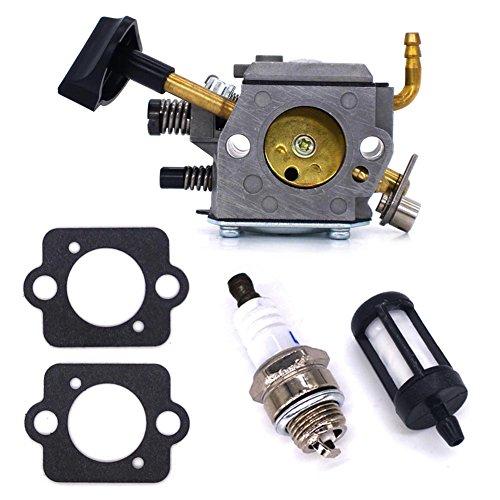FitBest Carburetor for Stihl SR320 SR340 SR380 SR400 SR420 BR320 BR340 BR380 BR400 BR420 Backpack Blowers with Gasket+Spark Plug+Fuel Filter