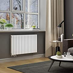 ELEGANT Design Panel Radiator Buizen 600x1003mm Witte dubbele laag badkamer / woonkamer horizontale radiator side connector badkamer radiator *