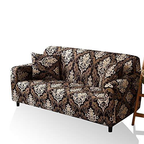 X-ZBS Sofabezug elastischem Stretch-Sofabezug,passend für alle Sofatypen, für 1-4-Sitzer(L-förmiges Ecksofa erfordert Zwei)