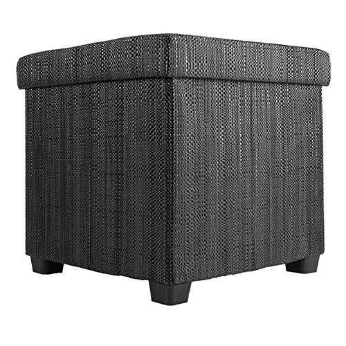 Echtwerk Sitzwürfel OutdoorCube EW-OC-0490 Schwarz