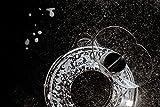 Spritzschutz Zubehör für die kleinste KitchenAid Mini Rührschüssel Kitchen Aid Küchenmaschine Spritzschutzdeckel + Trichter 3,3 Liter, Spritz Schutz Deckel Kochen Backen Teigschüssel Rühr Schüssel