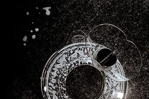 Paraspruzzi Accessori Planetaria per KitchenAid Mini Contenitore Miscelazione Paraschizzi + Imbuto, 3,3...