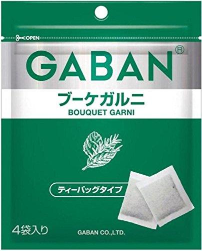 ギャバン ブーケガルニ あら切りテイーバッグタイプ 袋1.6g×4袋