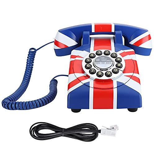 FOLOSAFENAR Teléfono de sobremesa con reducción de Ruido telefónico Modelo WX-3510#, para el hogar(British Line)