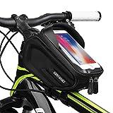 Cool Change Bike Front Frame Bag Cycling Bicycle Phone Bag Bike Top Tube Bag Phone Case Holder
