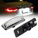 Luces de matrícula de Coche Láminas LED Lámpara de luz Lámpara de luz Compatible con Toyota Camry Aurion Prius Previa-ACR50 GSR50 Lexus IS200 IS300 RX330 LS430 ES300 GS300 Durable