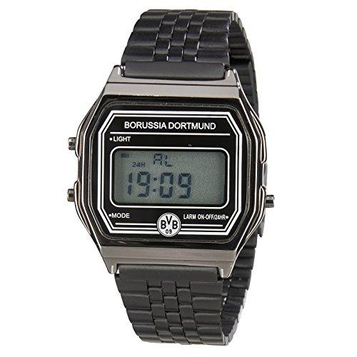 BVB Unisex Erwachsene Digital Smart Watch Armbanduhr mit Edelstahl Armband 2466322