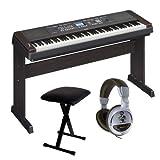 Yamaha DGX 650B Stage Piano Incluye auriculares y banco para teclado