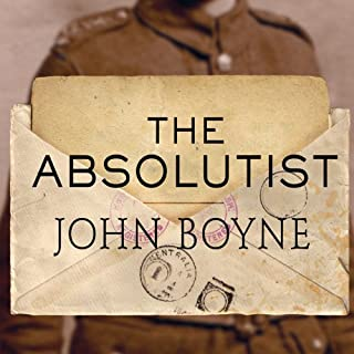 The Absolutist audiobook cover art