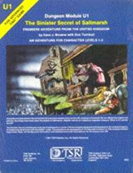 U1 The Sinister Secret of Saltmarsh - Book  of the Advanced Dungeons and Dragons Module #C4