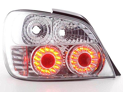 FK Automotive FKRLXLTY8001 LED Feux arrière, Chromé