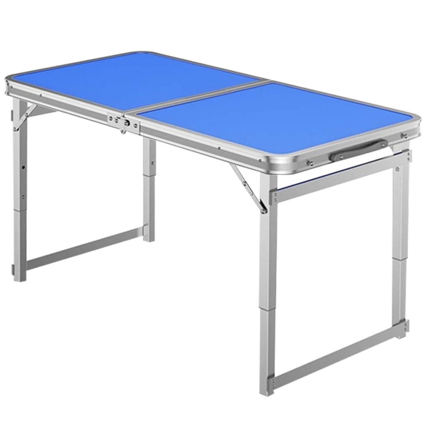 真実チームペネロペRoscloud@ ペットグルーミングテーブル折りたたみ式テーブル風呂せん断修理ヘア化粧品テーブル折りたたみ式ポータブル手術台、伸縮自在の高さ(ブルー)