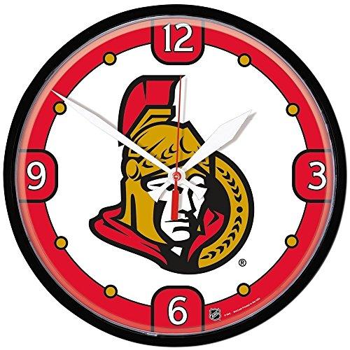 WinCraft Ottawa Senators Eishockey NHL Wanduhr