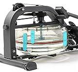 LeeBZ Indoor Rudergerät Fitness Cardio-Workout Wasserresistent Rudergerät Kleines Lärm - 4
