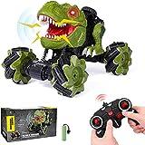 HANMUN Remote Control Car Dinosaur Toys - 2.4 GHz Monster Truck 360° Spins...