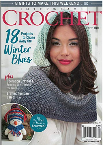 Interweave Crochet Magazine Winter 2020