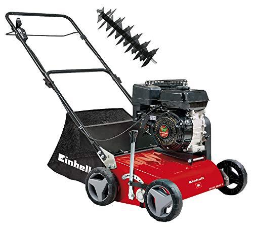 Einhell 3420020 GC-SC 2240 P Benzin-Vertikutierer 2.2 W, Schwarz, Rot + Einhell 3420021...