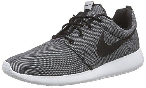 Nike Herren Roshe ONE Premium Sneakers, Schwarz (010 Black/White-Wolf Grey), 38.5 EU