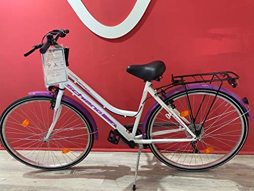 Minerva Bici Bicicletta Donna SCHIANO 28 Shimano 6V