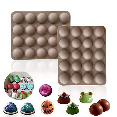 MNBV bal bol siliconen mal chocolade bakken ronde taart
