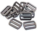 Schieber-Stopper-Gleiter 10 Stück für 30mm Band-Gurtband