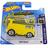 Hot Wheels Party Wagon HW Screen Time 4/10 2021 (39/250) Short Card