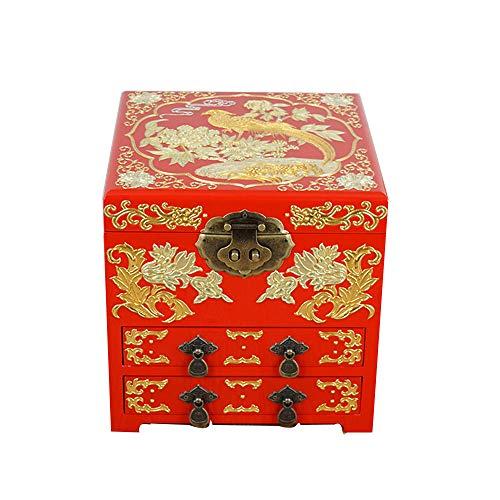 LWW Caja Joyero Chino,Joyeropiano Pintura joyero de...