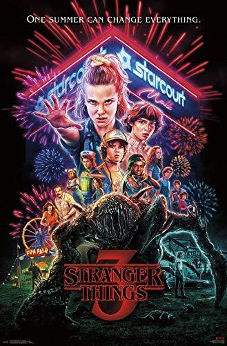 "Trends International Netflix Stranger Things: Season 3 - One Sheet Wall Poster, 22.375"" x 34"", Unframed Version"