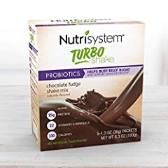 20 CHOCOLATE FUDGE SHAKES in convenient, ready-to-mix packets! With probiotics to help bust belly bloat and support digestive health. These tasty shakes deliver powerful nutrition as part of a balanced diet and healthy lifestyle. PACKED WITH PROTEIN ...